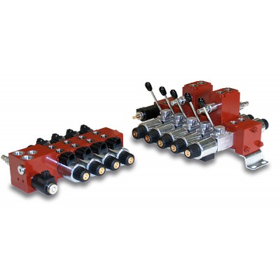 Directional control valves with direct acting solenoid