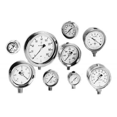 Pressure Gauges (Stainless Steel)